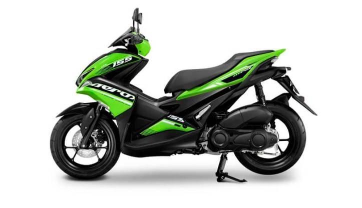 Yamaha Aerox 2019 Versi Thailand Warnanya Kawasaki Banget