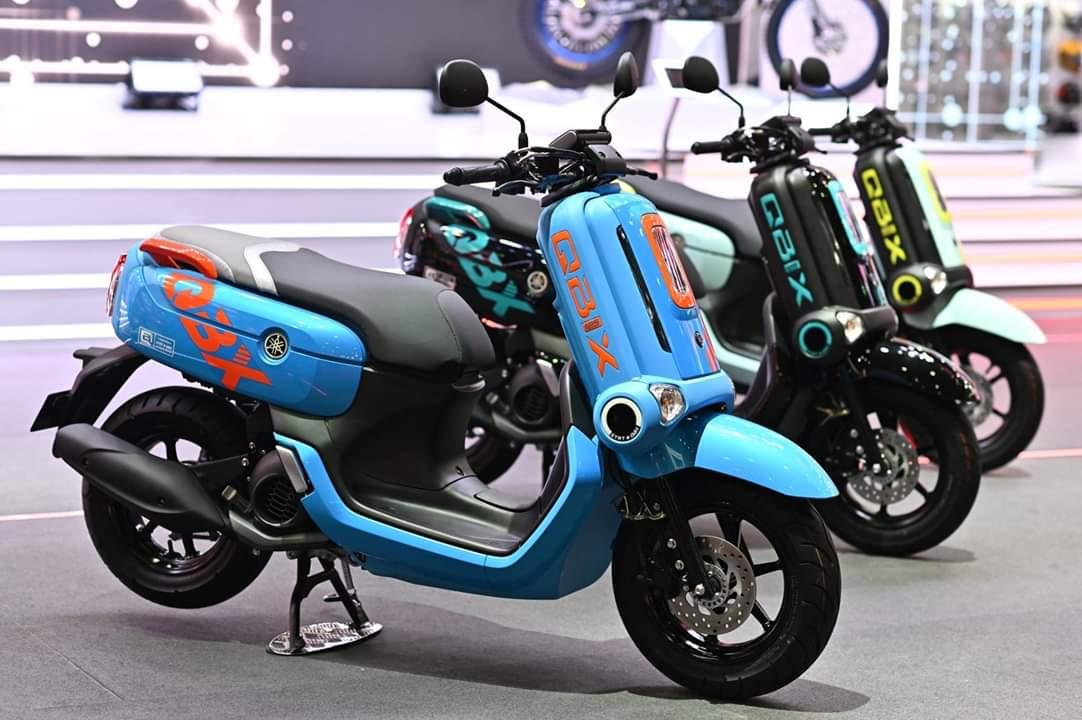 Warna Warni Tampilan Baru Yamaha Qbix 2019 Di Thailand Warungasep