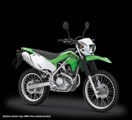 klx230 2019 hijau