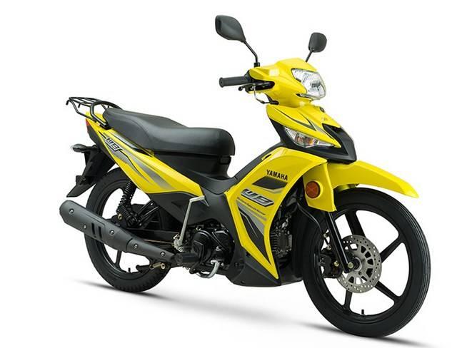 Yamaha U8 115cc, Motor Bebek Mirip Vega Force Pakai Body