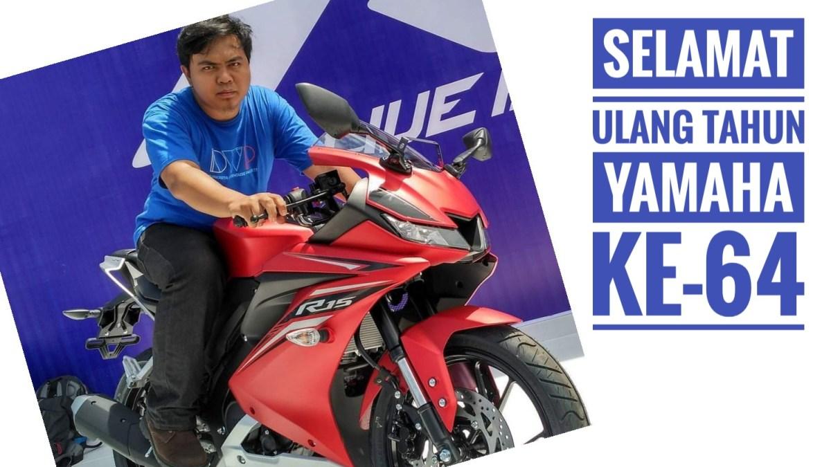 Ulang Tahun Ke 64 Yamaha Indonesia Bagikan Vixion R Dan