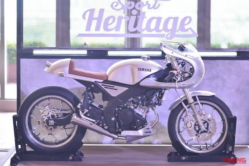 modifikasi yamaha xsr155 cafe racer