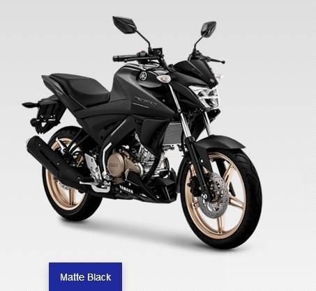 new vixion 2020 matte black