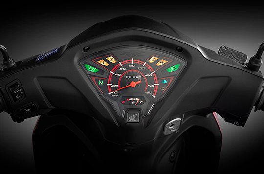 honda rsx 110 2020 revo facelift watermak speedo