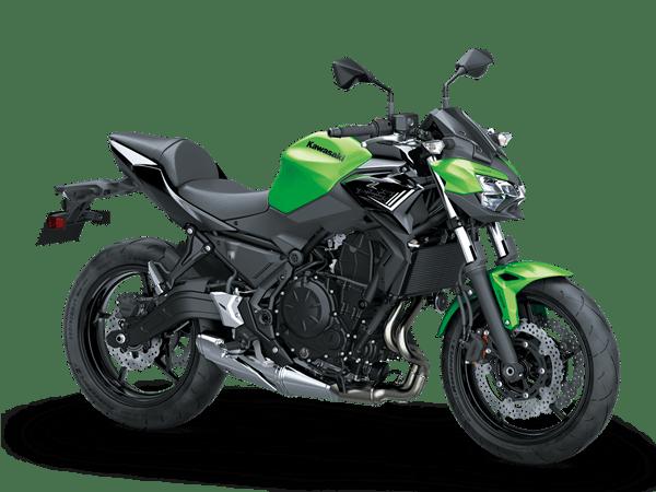 kawasaki z650 2020 hijau