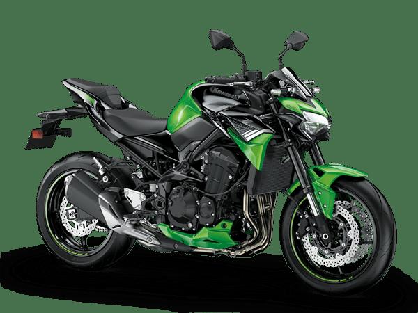 kawasaki z900 2020 hijau