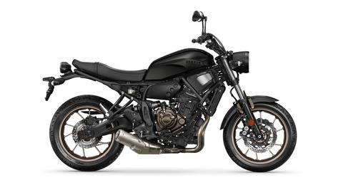 yamaha xsr700 2020 hitam