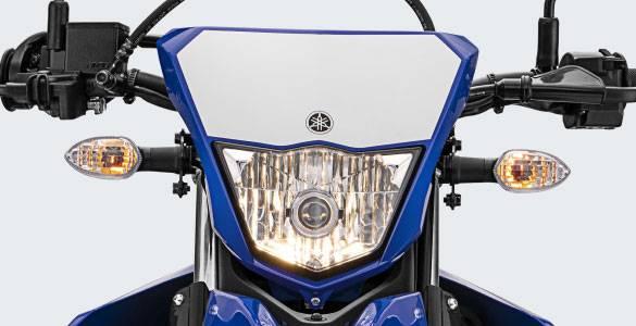 wr155r 2020 lampu