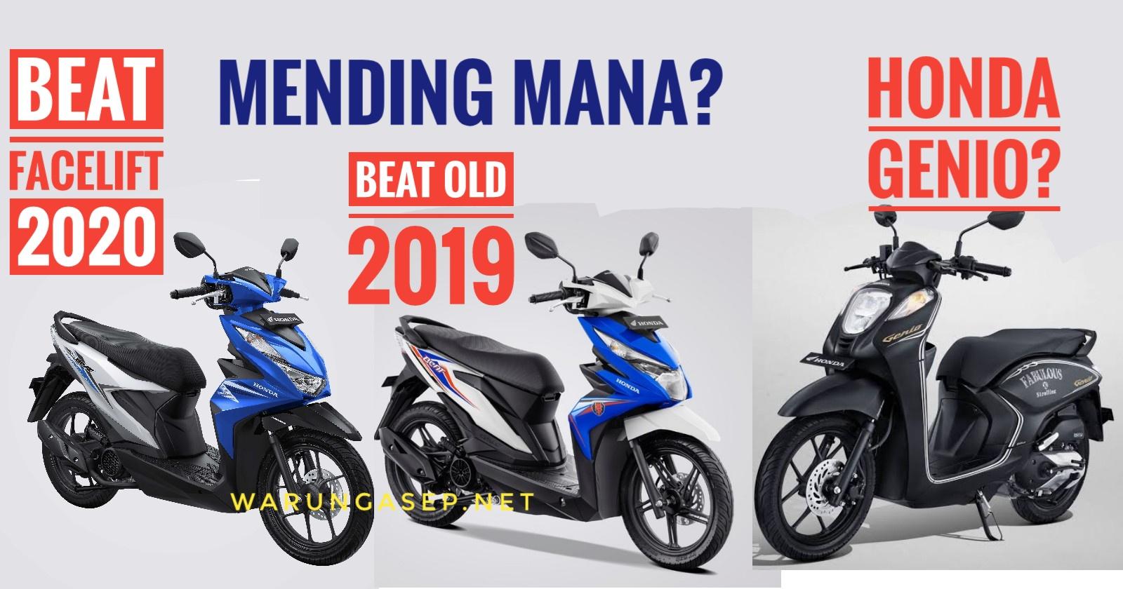 Honda beat menjadi salah satu pilihan motor matic yang banyak di pilih masyarakat. Beat 2020.jpeg - WARUNGASEP