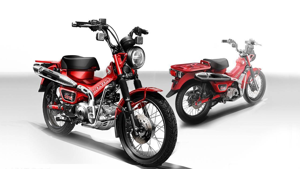 Honda ct125 2020 huntercub 1 3