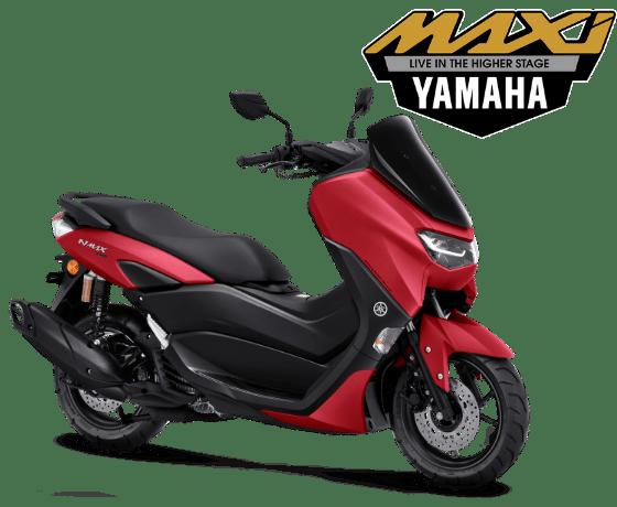 Yamaha Nmax 2021 merah mamat