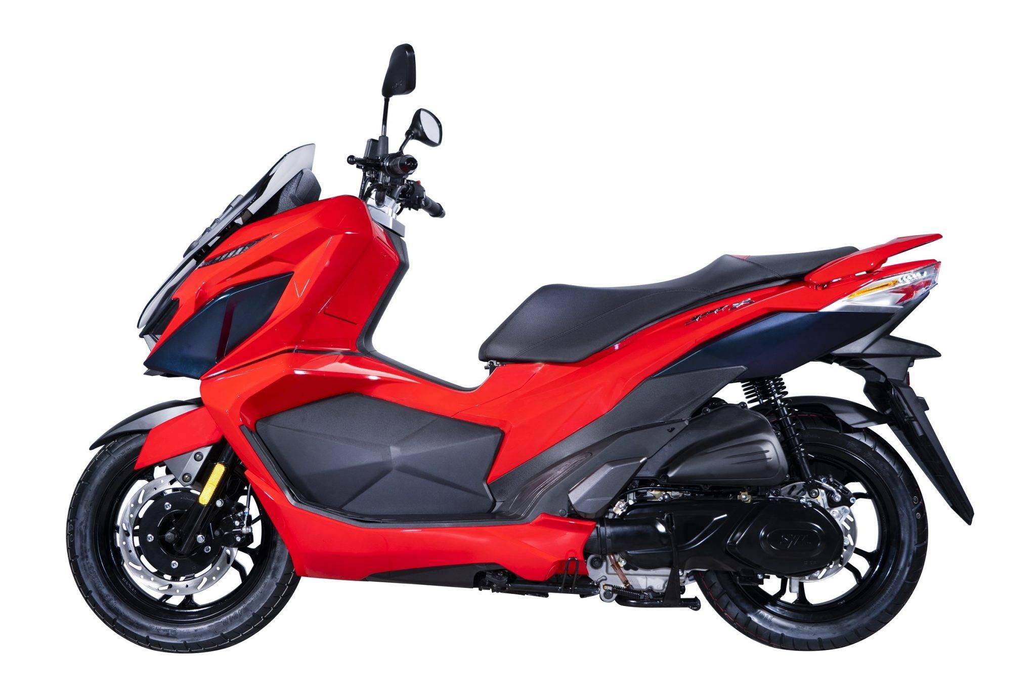 SYM JET-X 150 2021 Malaysia red