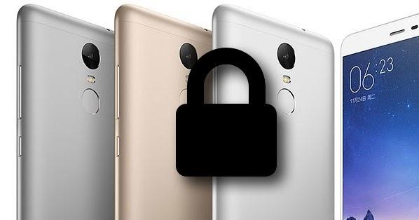 cara unlock bootloader Xiaomi redmi 3 pro