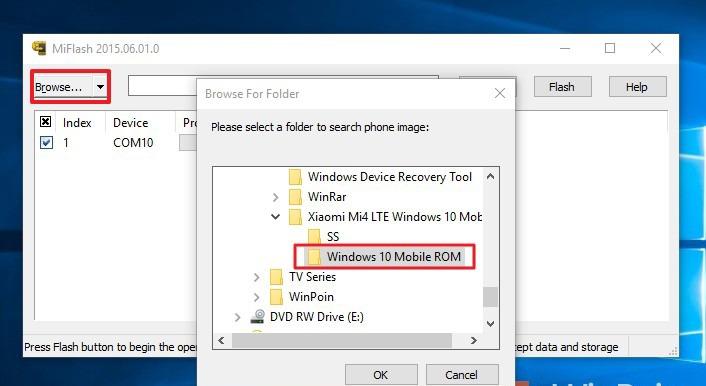 Cara Flashing ROM Windows 10 Mobile pada Xiaomi Mi4 LTE