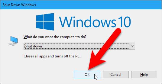 Cara untuk Shutdown di Windows 10 tanpa Installing Updates