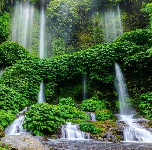 Destinasi Wisata: Air Terjun Benang Kelambu, Air Terjun Di Lombok Yang
