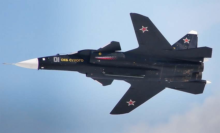 Forma křídla SU-47