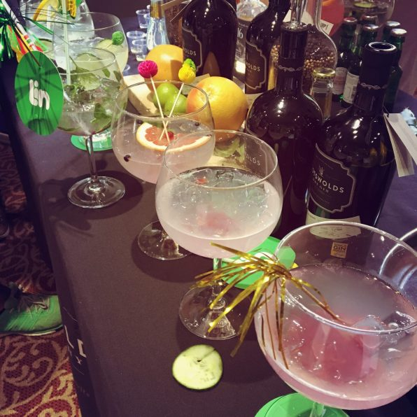 Cotswold Distillery Lin and Tonic finalists