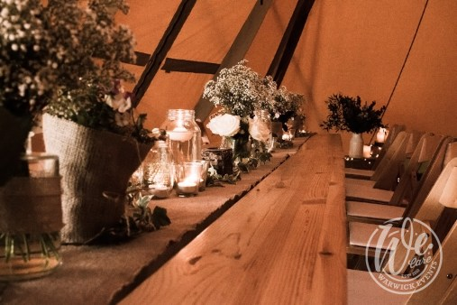 Festival Party Table Setting
