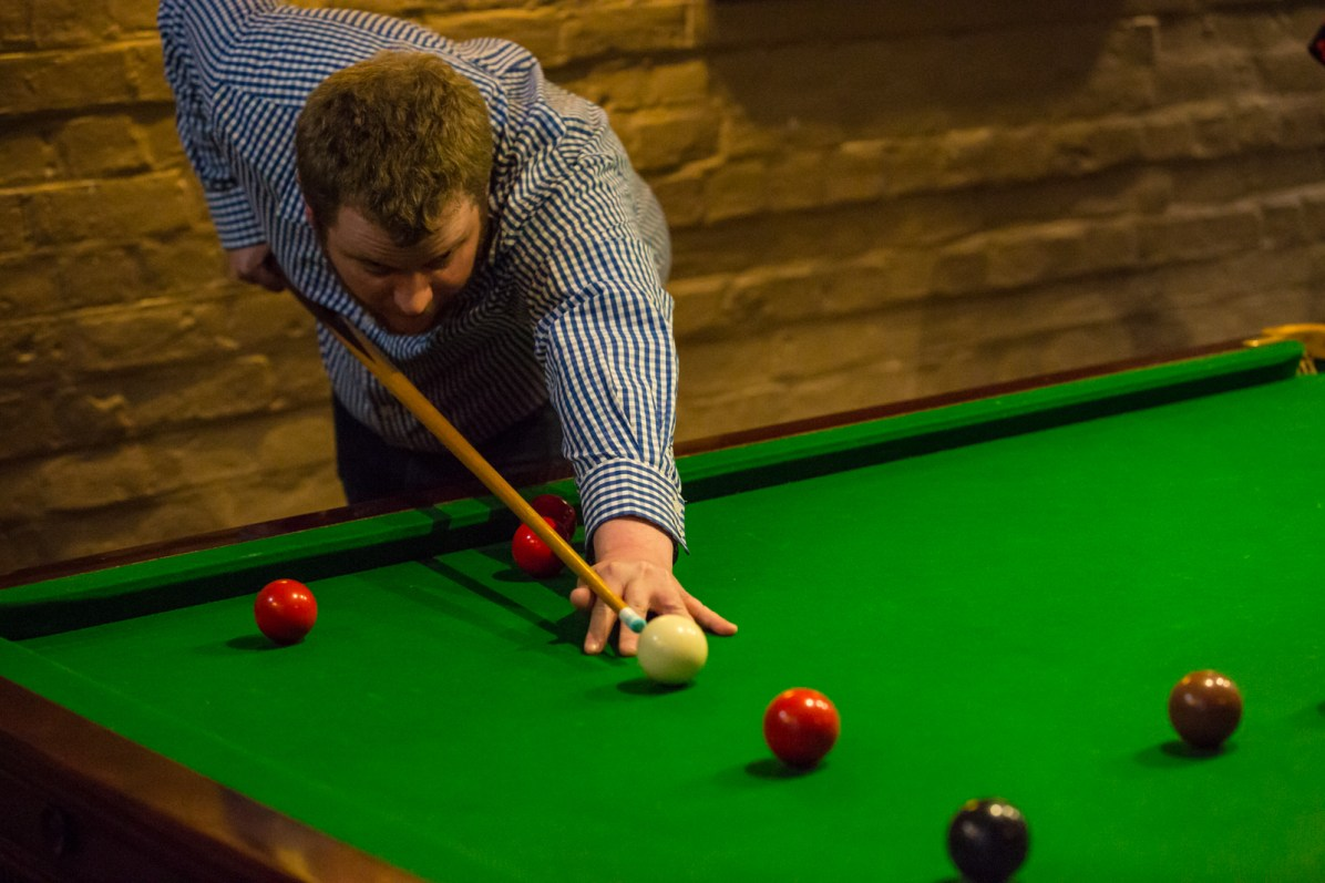 Team Activity Fun Games Snooker Pool