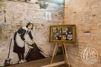 Team Building Code Breaker Game Banksy Maid Stanbrook Abbey Cellar
