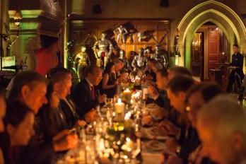 Banquet at Warwick Castle