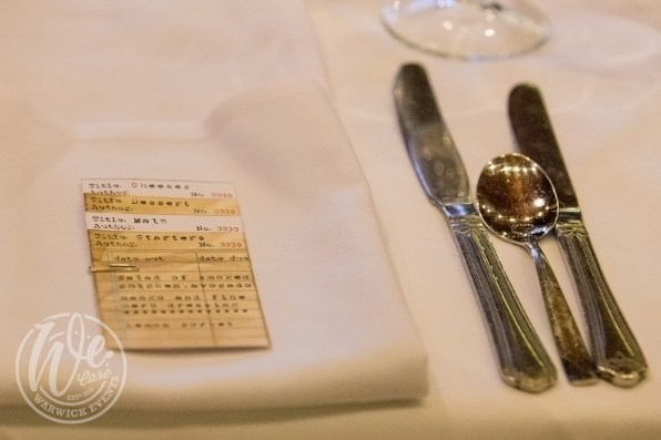 Library-themed-dinner-menu-card