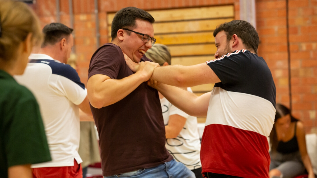 Stage combat team building experience for your Warwickshire event