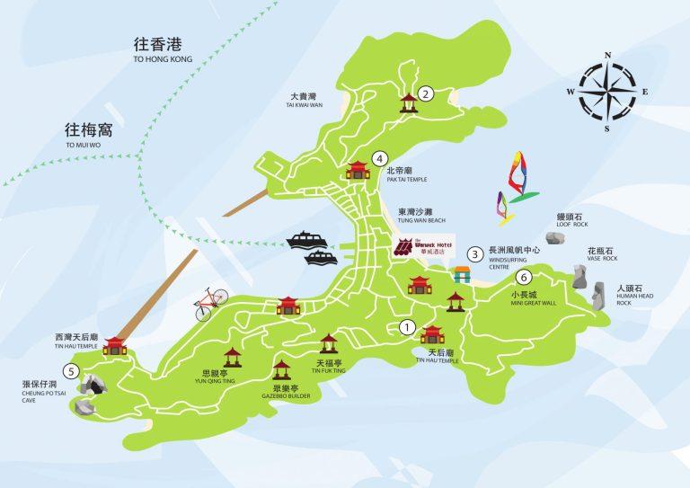 map of cheung chau