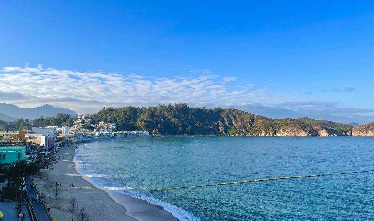 Island sea view