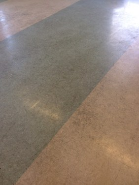 Vinyl floor in Wyken before cleaning