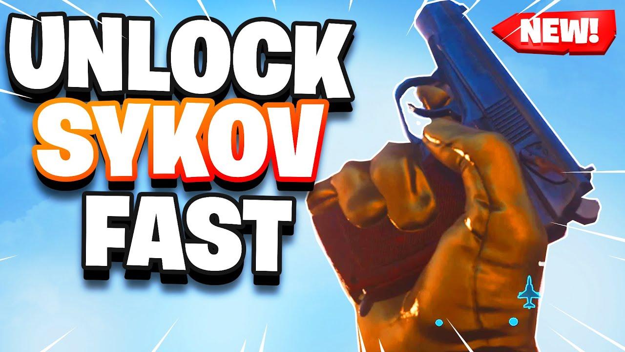 How to unlock Sykov pistol gun in warzone