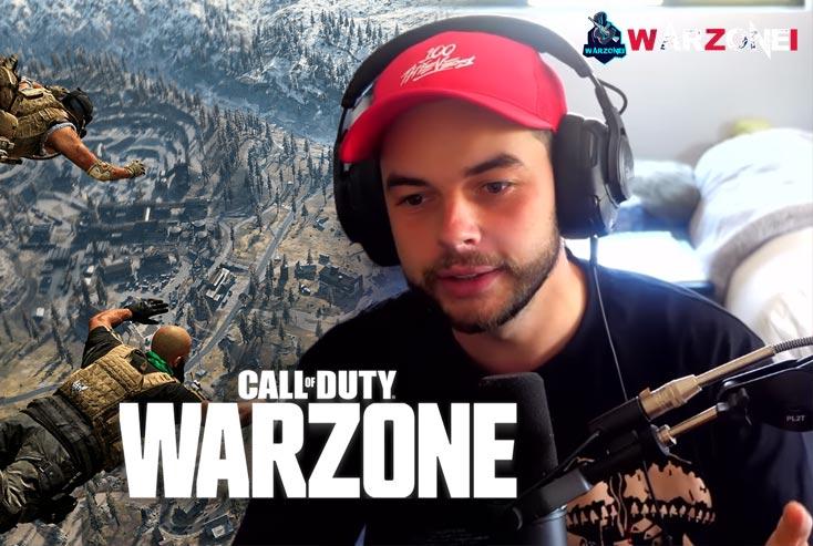 Warzone streamers in twitch: Nadeshot