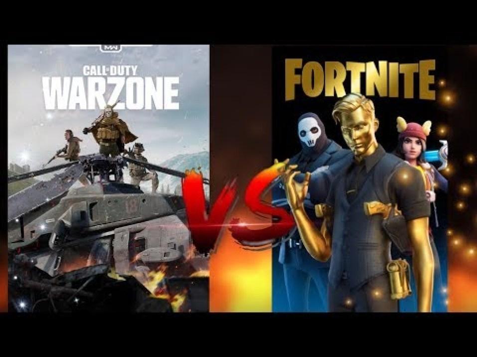 fortnite vs call of duty