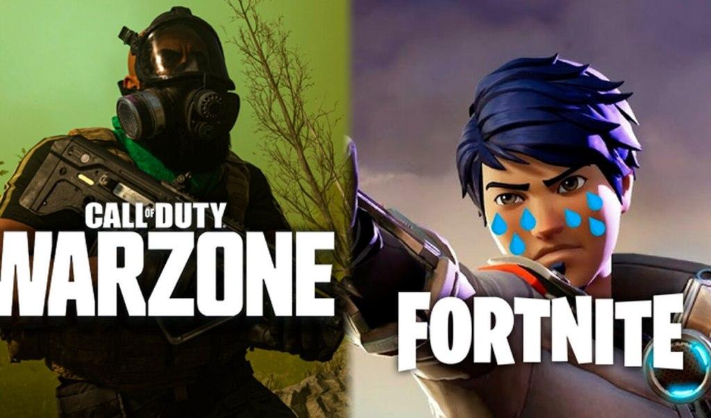 fortnite vs warzone game