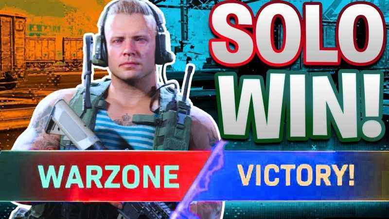 best solo warzone win