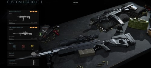 mp7 class in warzone