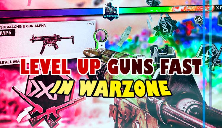 fast level up weapon in warzone