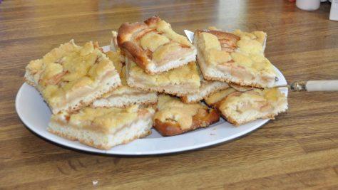 Apfel-Streuselkuchen vom Blech