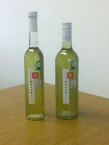 500ml and 750ml bottles of Namida® Wasabi Spirit
