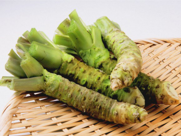 This is the Cancer Fighting Wasabi you want. Fresh wasabi rhizomes or 100% Pure Wasabi powder only made from these.