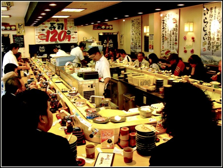 Sushi Places Around Here