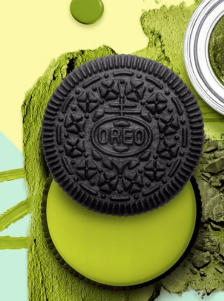 Wasabi Oreo - nice green colour