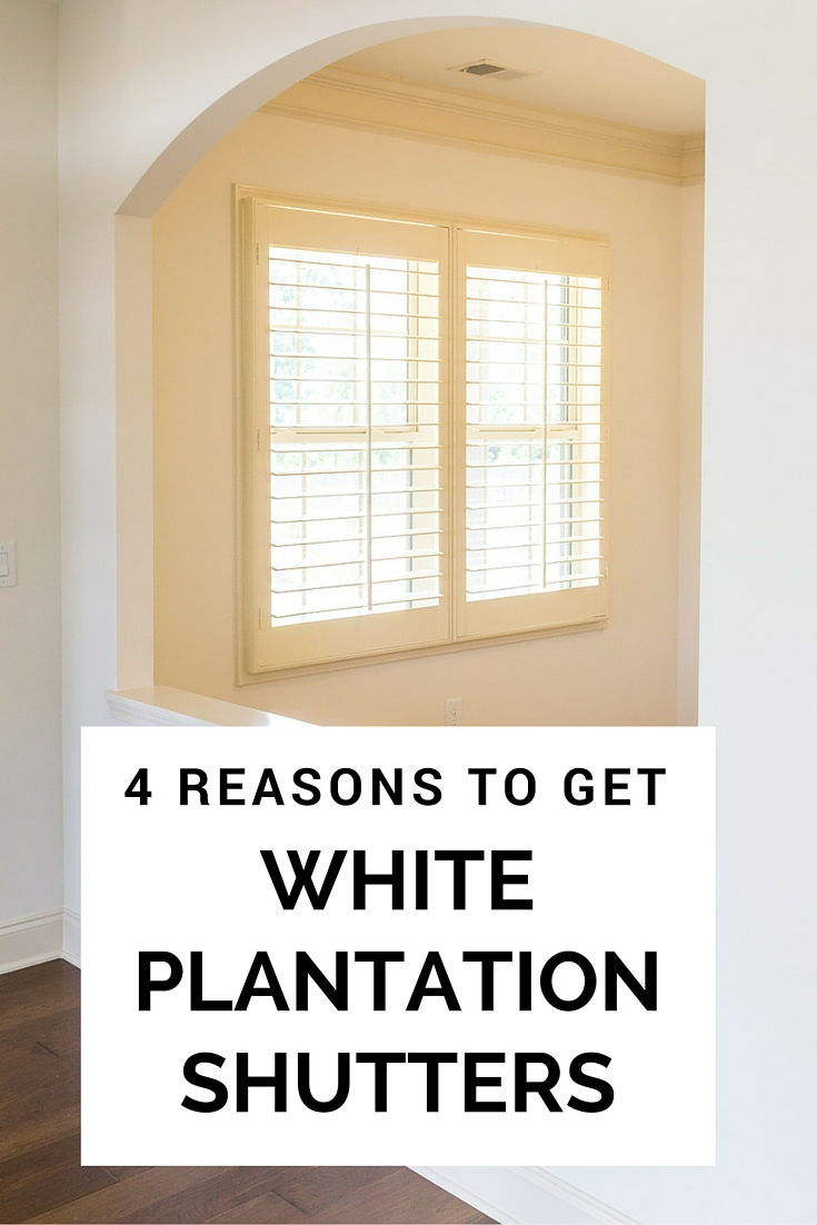 4 Reasons To Get White Plantation Shutters Wasatch Shutter