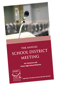 The Annual School District Meeting