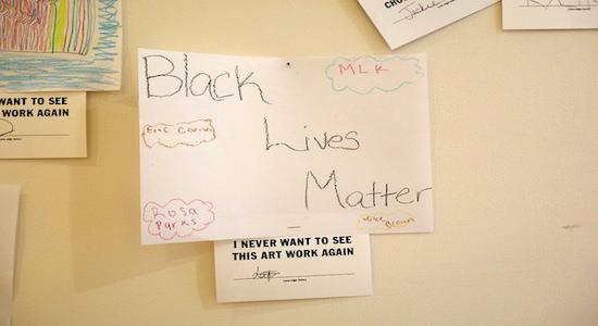Black Lives Matter - auch in der Bildung. Foto: Nick Normal/Flickr