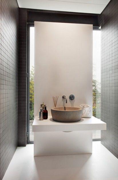 wie finde ich ein waschbecken im stil der wohnung waschbecken aus naturstein by pietre di. Black Bedroom Furniture Sets. Home Design Ideas