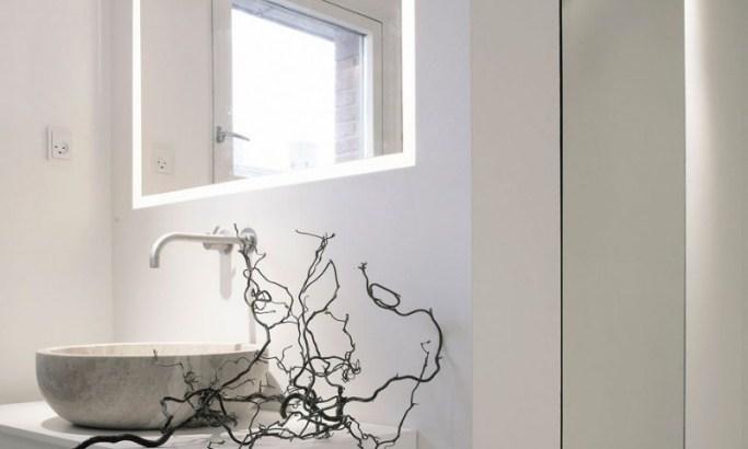 modernes bad mit steinwaschbecken - waschbecken aus naturstein by, Hause ideen