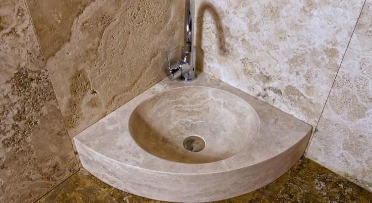 eck waschbecken f r kleine r ume waschbecken aus. Black Bedroom Furniture Sets. Home Design Ideas