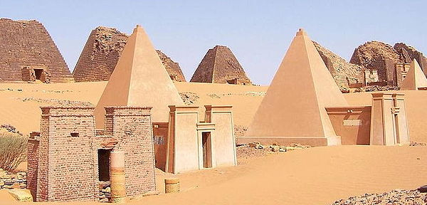 They even had pyramids...though they were quite different architecturally to those of Egypt